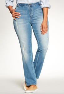 Woman Within Stretch Jeans
