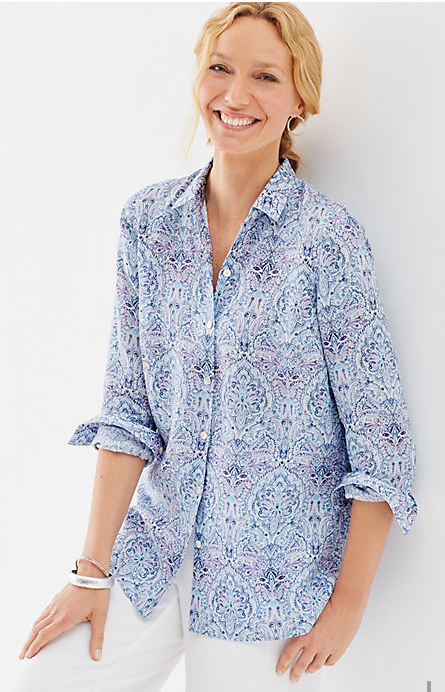 Beautiful linen shirt from J. Jill