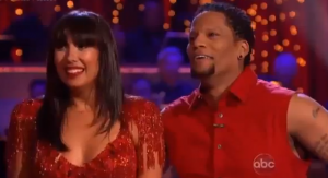 DWTS DL Hughley screen capture